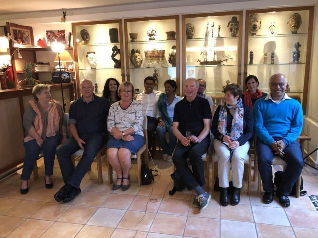 Les participants à la conférence du 28 septembre 2019