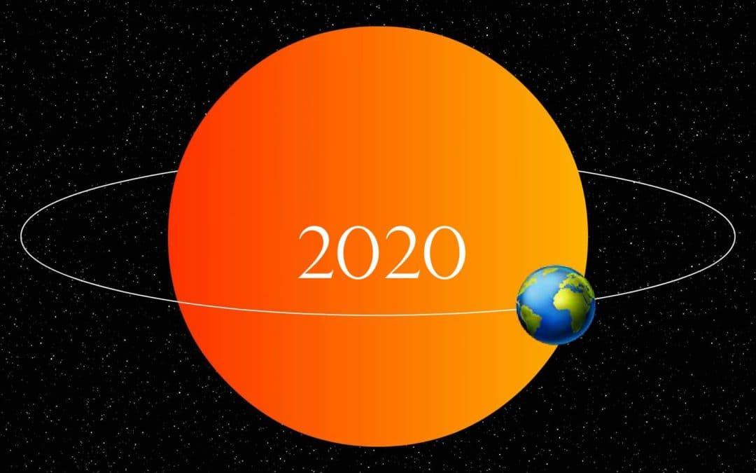 La Terre autour du Soleil