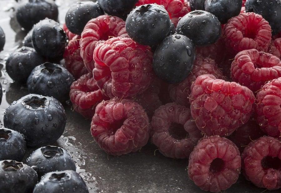 Des fruits rouges